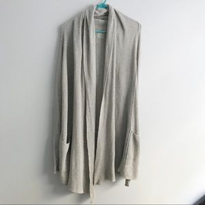 😍HP😍 ALLSAINTS Gray Knit Oversized Cardigan